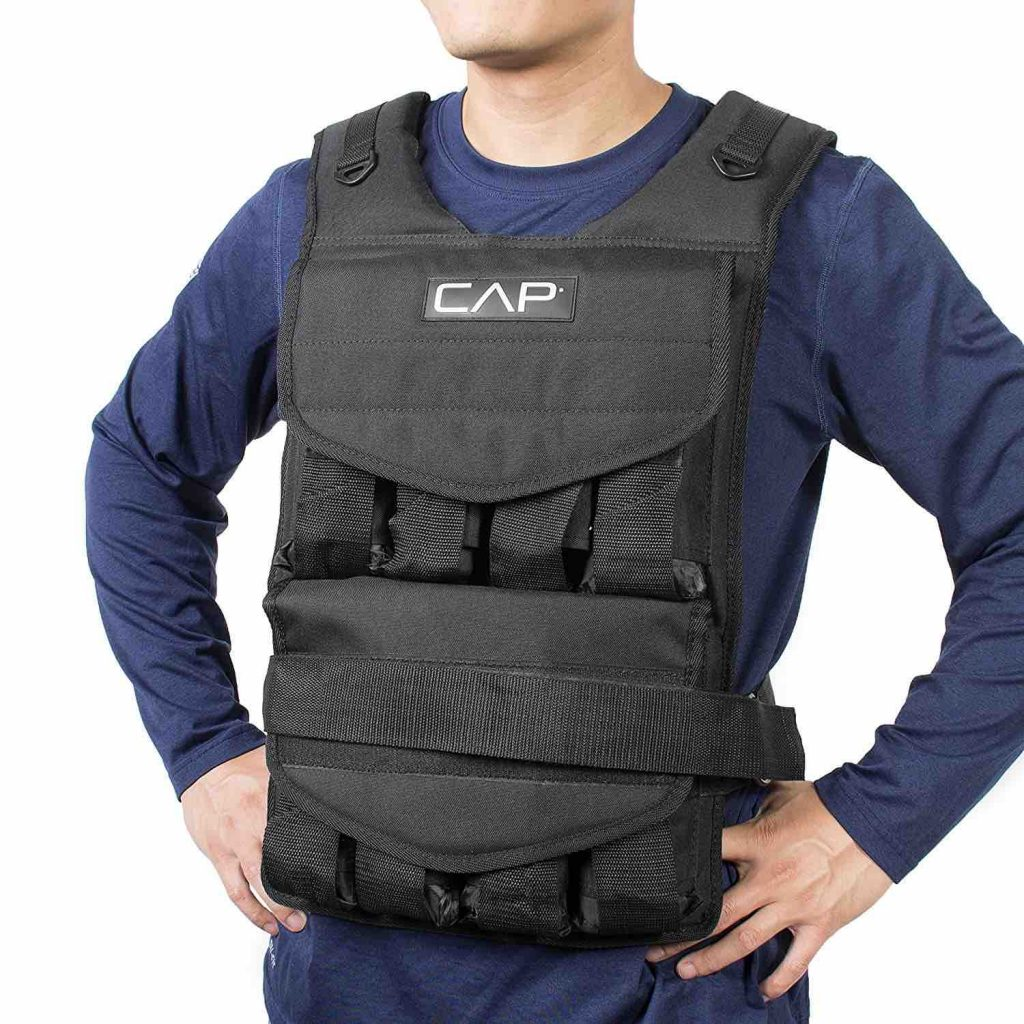 Picture of the CAP Barbell Adjustable Weighted Vest