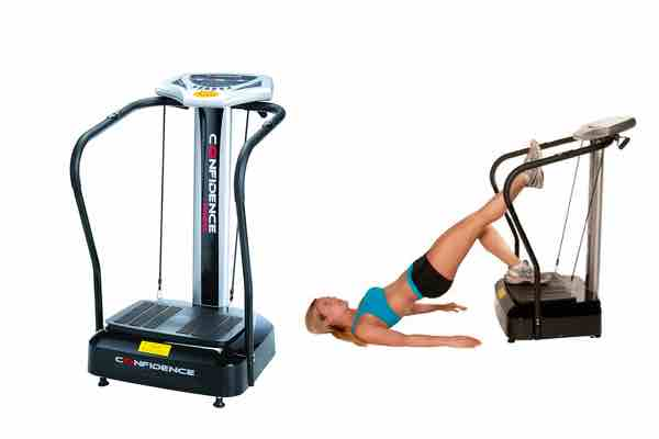 Picture of the #1 Best Vibration Machine - the Confidence Fitness Vibration Machine
