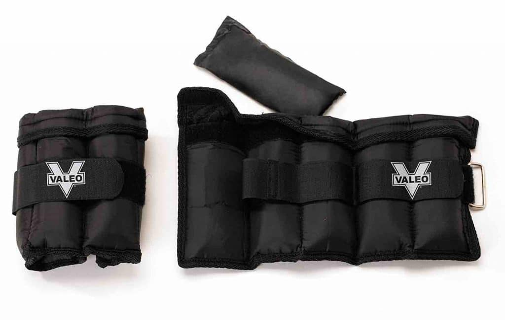 Picture of Valeo Adjustable Ankle/Wrist Weights With D Ring