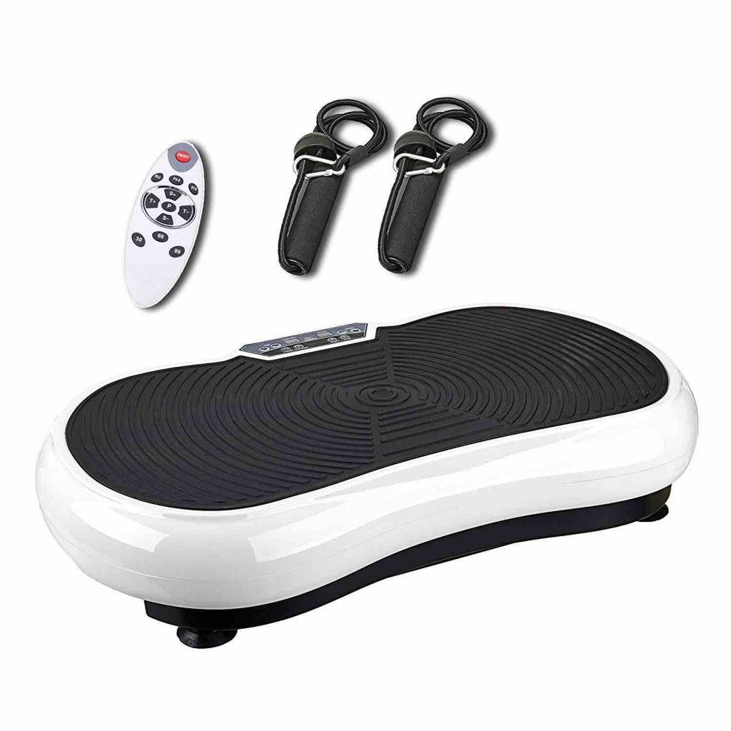 Tiny & Tuff: Pinty Fitness Crazy Fit Vibration Machine