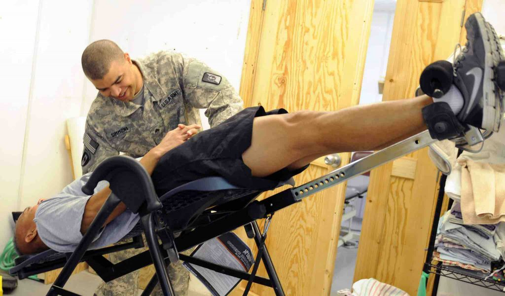 Picture of Inversion Table Benefits