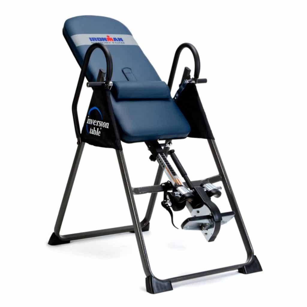 Picture of the Ironman Gravity 4000 Inversion Table