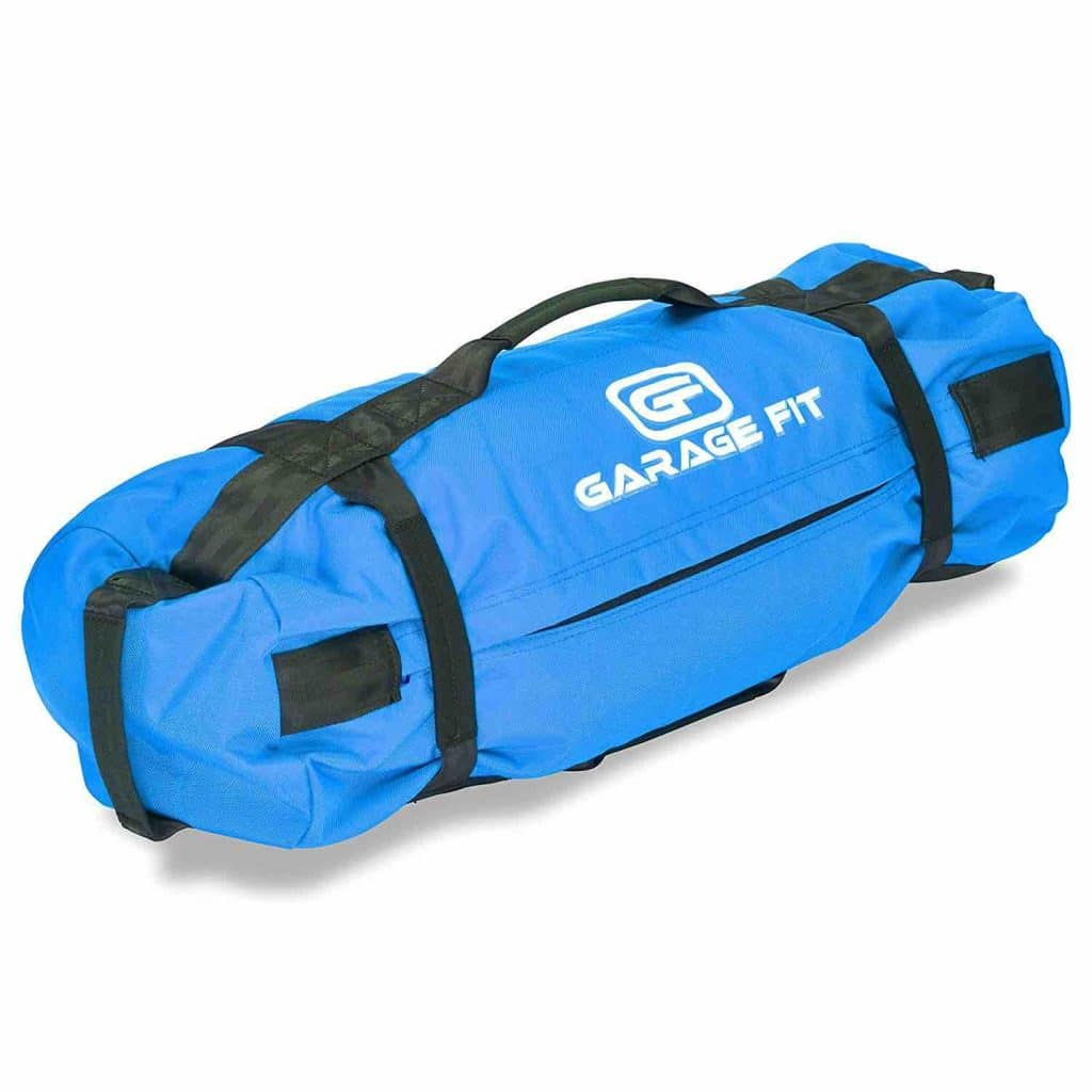 Picture of the Blue Garage Fit Fitness Sandbags