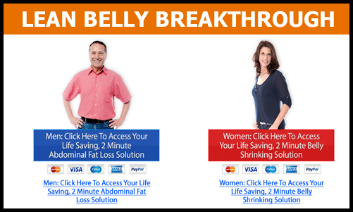 Picture of the Lean Belly Breakthrough Review for Men vs. Women