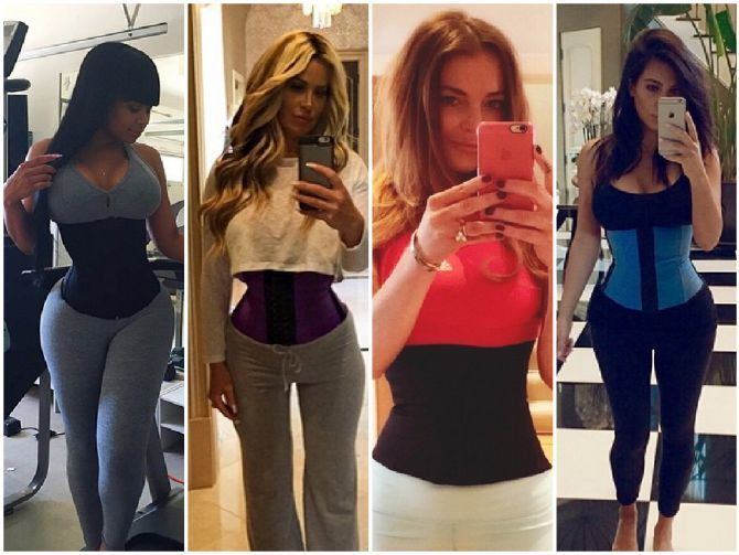 Picture of the Best Waist Trainer for Women - 3 Different Women Panel Wearing Waist Trainers