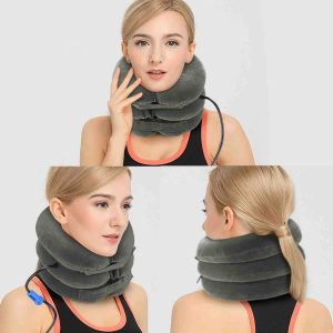 Picture of the PURNEAT Cervical Neck Traction Device