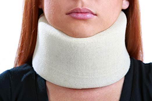 Picture of the Universal Cervical Collar Padded Foam Neck Brace