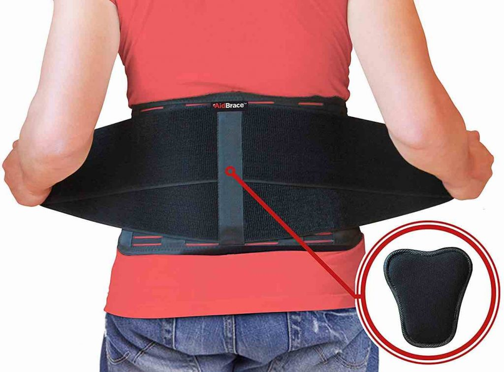 Picture of the AidBrace Back Support Belt