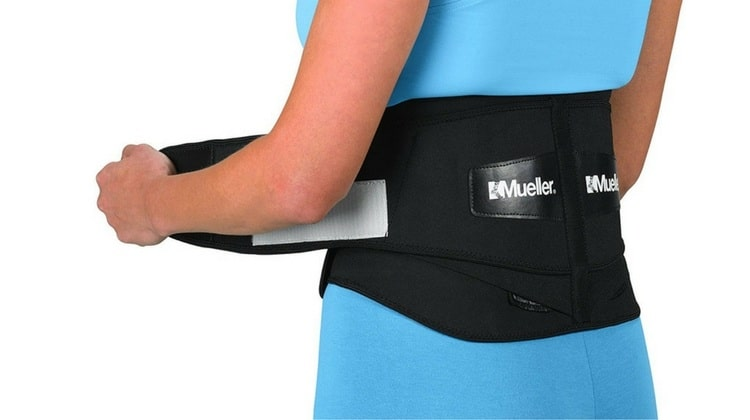 Picture of a back brace