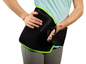 Picture of the Natracure hip pain relief wrap