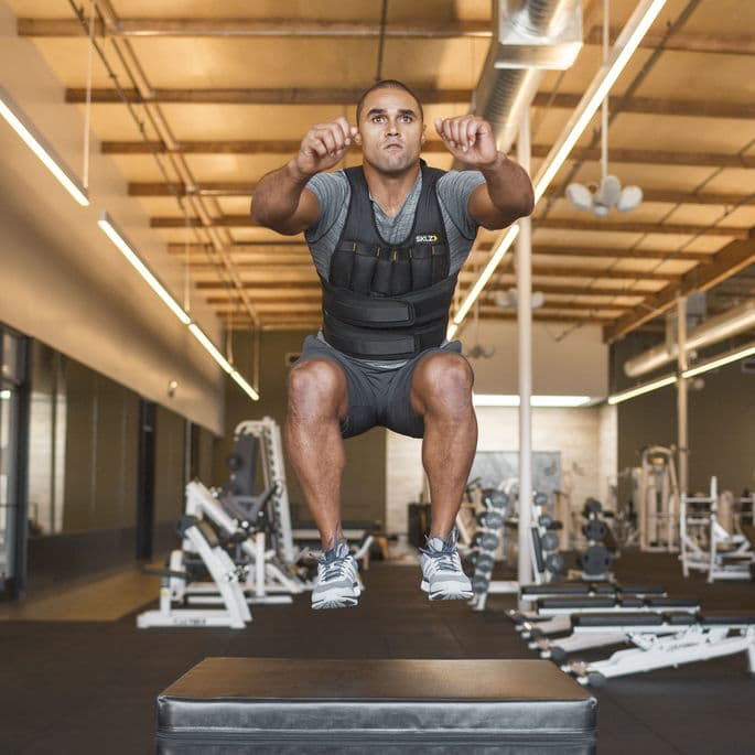 Tips for working out in a weighted vest